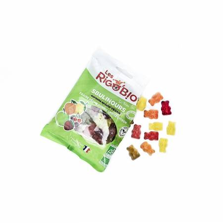 Bonbon Oursons aux fruits BIO