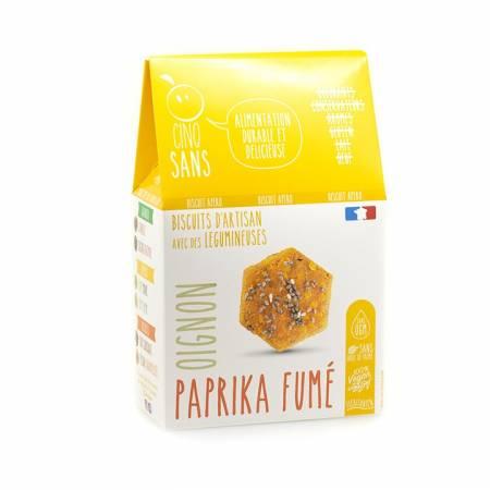 Biscuit apéro Oignons Paprika
