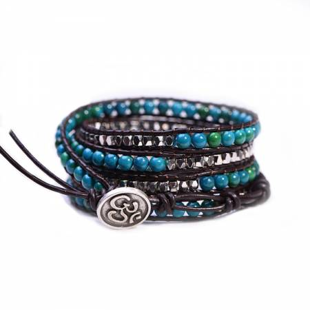 "Bracelet Wrap ""Motivation"" PIERRE DE PHOENIX"