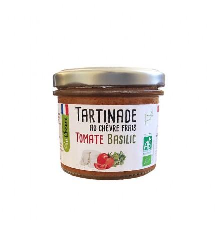 Tartinade au chèvre frais Tomate Basilic Bio