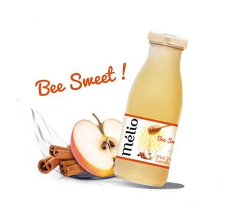 Boisson au miel, pomme et cannelle