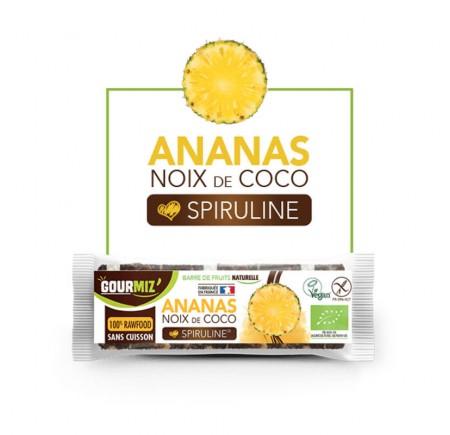 Barre Ananas Coco Spiruline