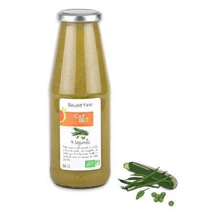 Soupe fine Bio aux 4 légumes