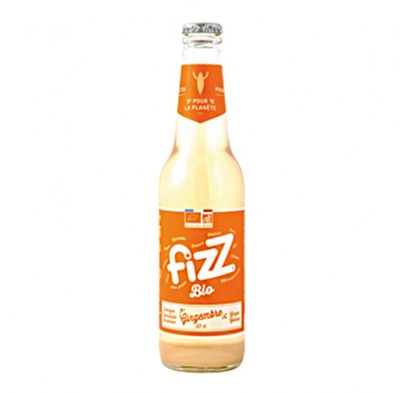 Fizz Gingembre BIO 33cl