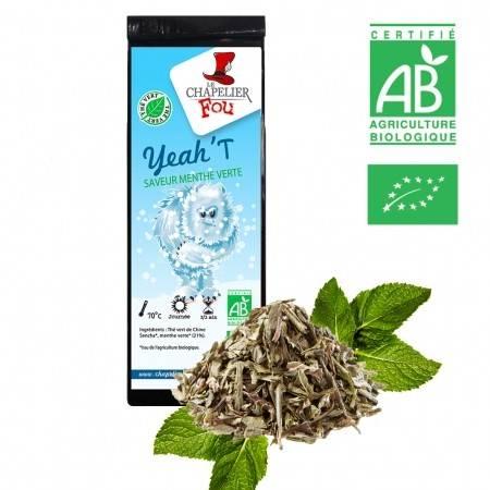 YEAH'T thé vert à la menthe verte BIO