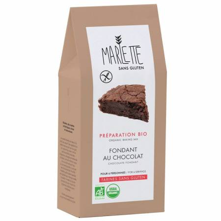 Préparation pour Fondant au chocolat (sans gluten) BIO