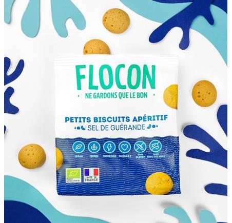 Biscuits apéritif au Sel de Guérande BIO