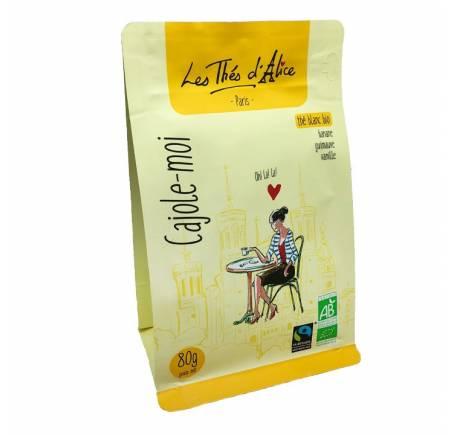 CAJOLE-MOI Thé blanc - Banane - Guimauve - Vanille BIO