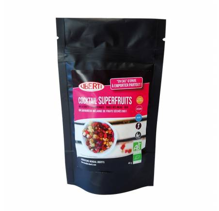 Snack Cocktail Superfruits BIO