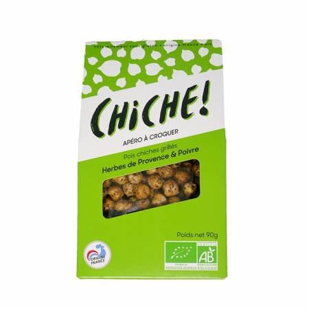 Pois chiches grillés Herbes de Provence & poivre BIO