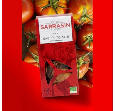 Sablés Apéritif  à la tomate BIO