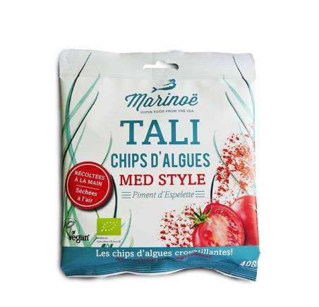 Chips d'algues MED STYLE BIO 40g