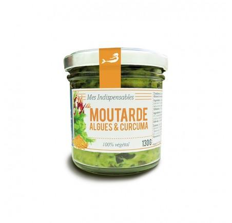 Moutarde aux Algues et Curcuma BIO 130g