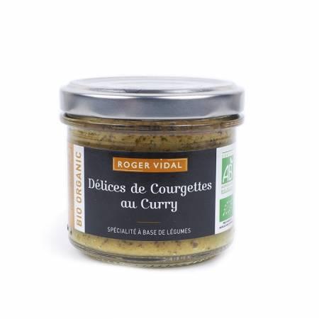 Tartinable Délices de courgettes au curry BIO