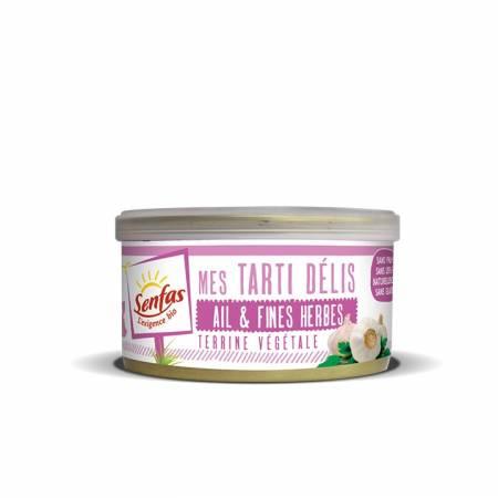Tarti Delis Ail et Fines Herbes BIO 125g