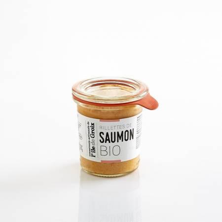 Rillettes de Saumon BIO 100g