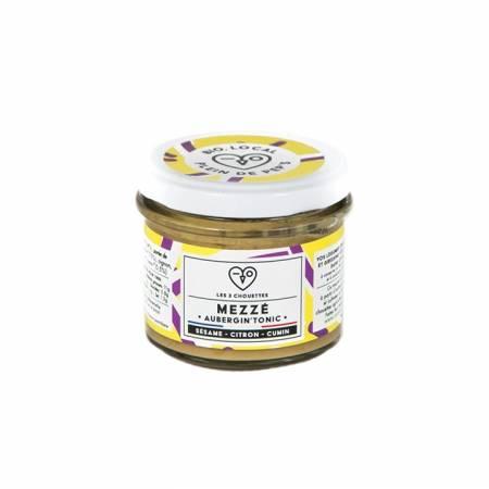 Mezzé Aubergine - sésame - cumin - citron BIO
