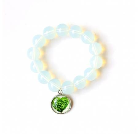 "Bracelet ""Tendresse"" OPALITE 14mm"