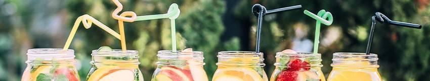 Belle sélection de boissons fraîches made in France